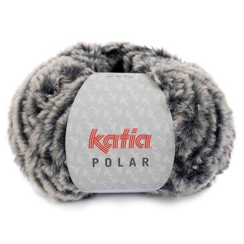 Polar Plüschgarn von Katia 100g-Knäuel Farbe 84 dunkelblau
