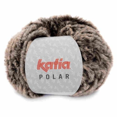 Polar Plüschgarn von Katia 100g-Knäuel Farbe 86 rehbraun