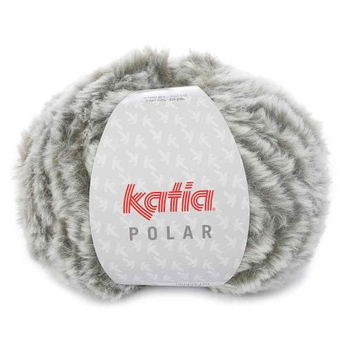 Polar Plüschgarn von Katia 100g-Knäuel Farbe 91 grün