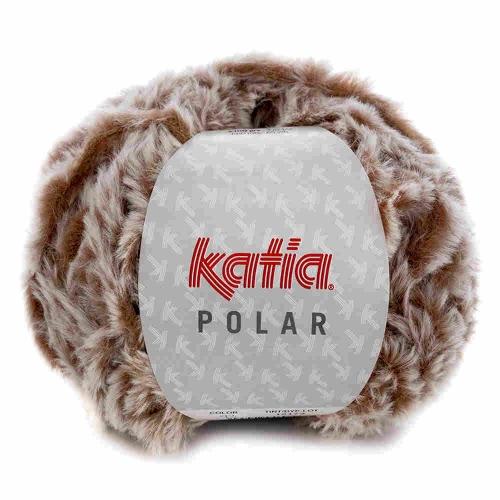 Polar Plüschgarn von Katia 100g-Knäuel Farbe 93 braun