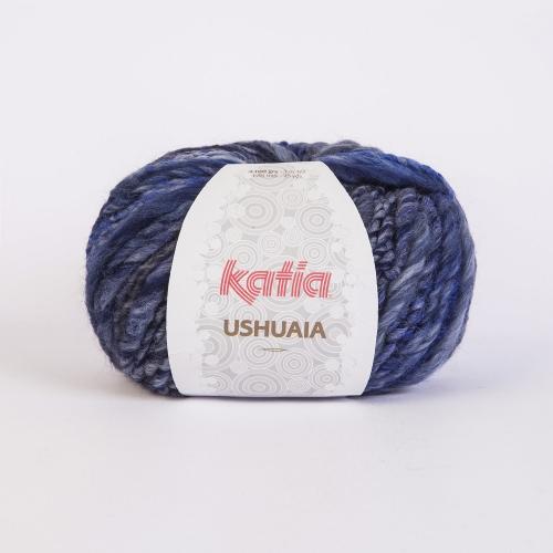 Katia Ushuaia Fb.609 blau 100g-Knäuel