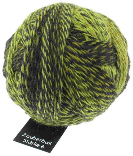 Zauberball Stärke 6 Olivenstrasse 150g-Knäuel
