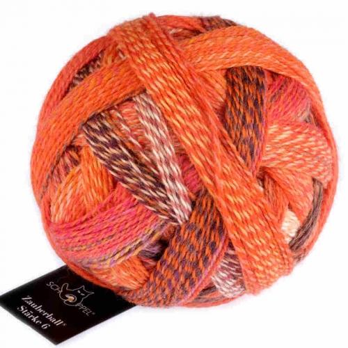 Zauberball Stärke 6 Orangerie 150g-Knäuel