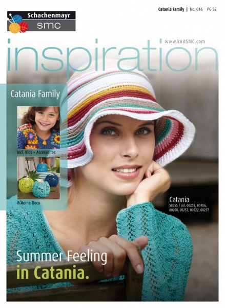 Titelblatt Anleitungsheft Inspiration Nr. 016 Summer Feeling in Catania
